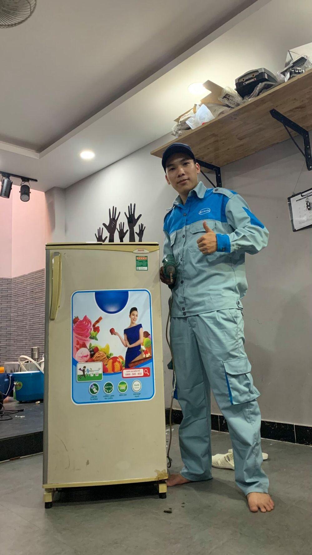 thợ sửa tủ lạnh quận 9