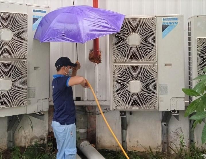 công ty bảo trì máy lạnh