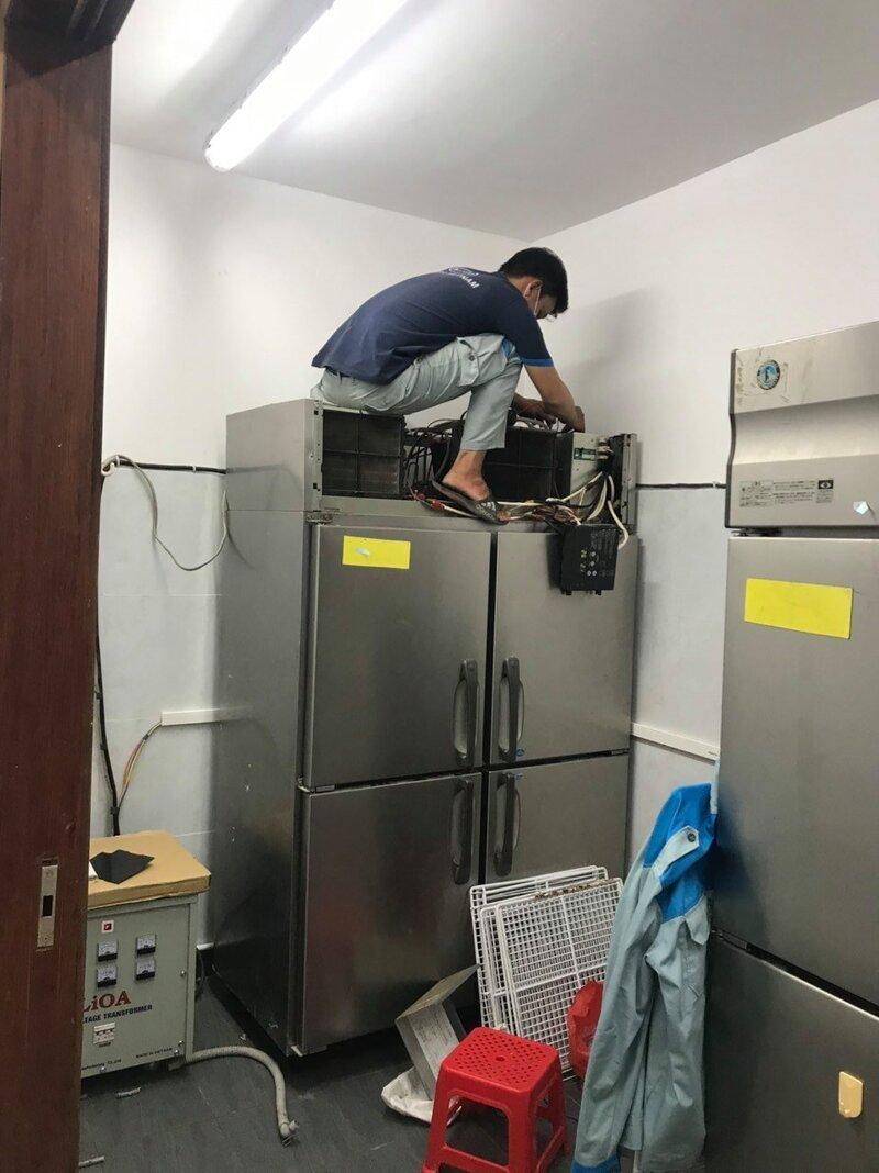 nơi sửa tủ lạnh midea