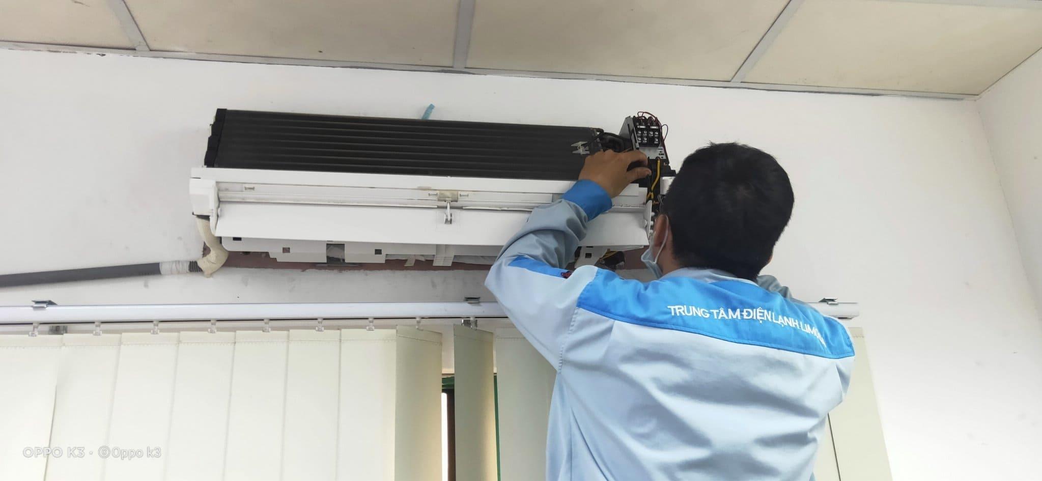 sửa máy lạnh cho bệnh viện