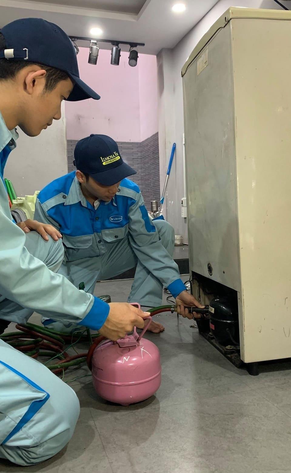 sửa tủ lạnh quận Gò Vấp limosa