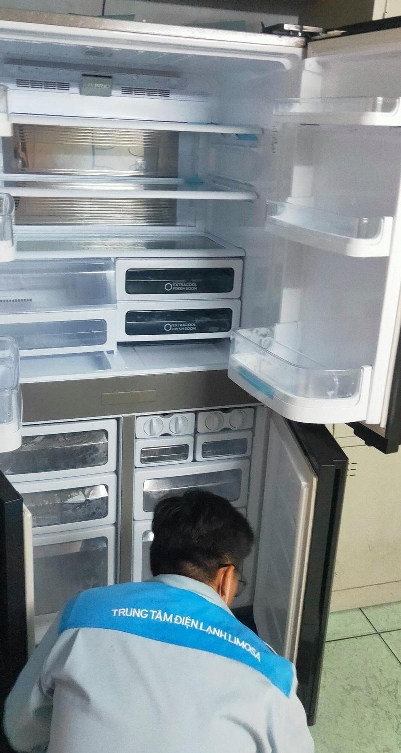 thợ sửa tủ lạnh midea
