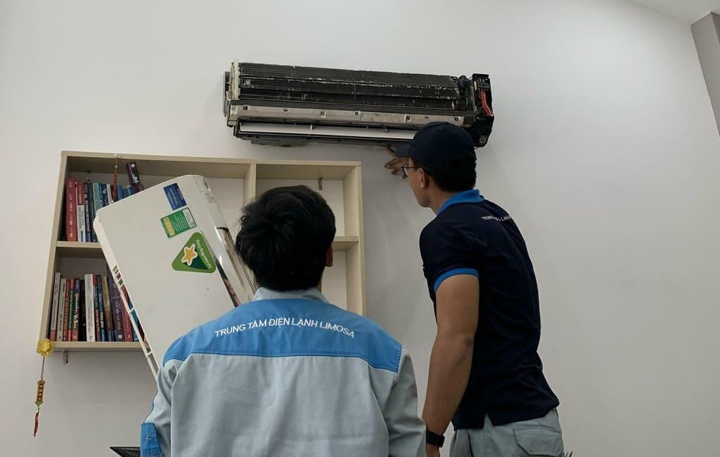 sửa chữa máy lạnh tại Nhà bè