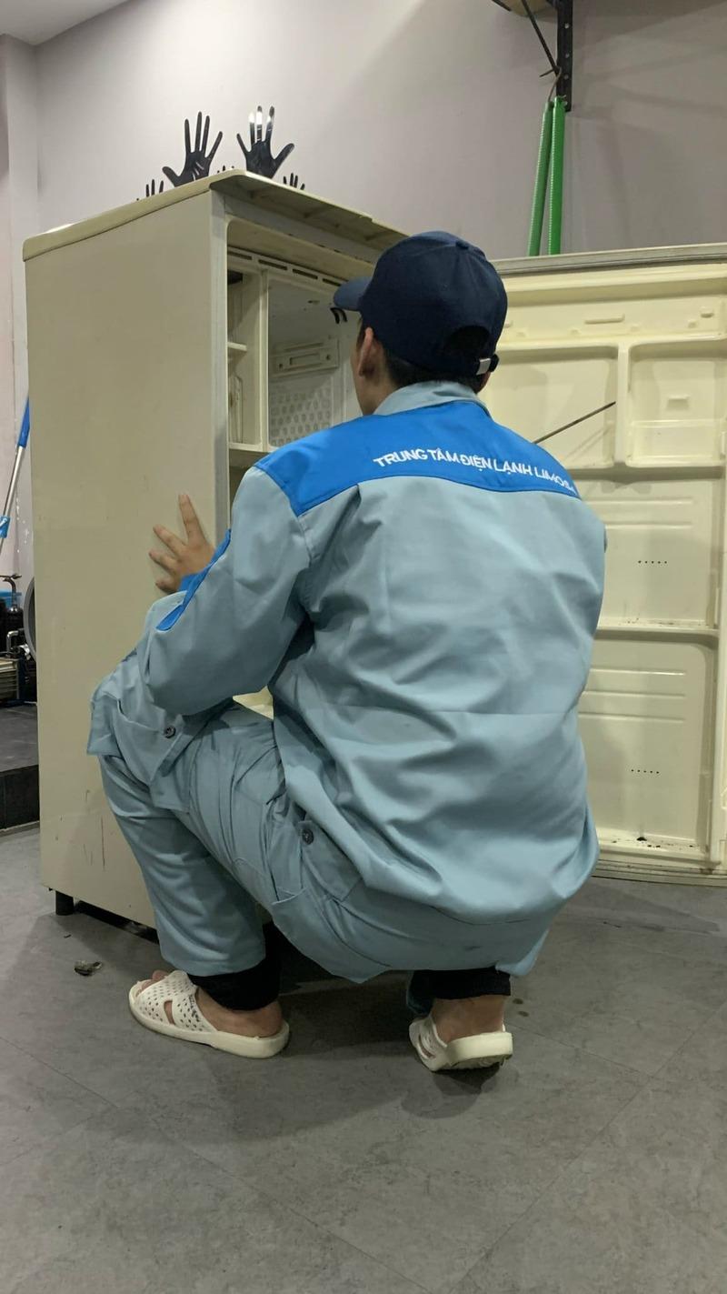 sửa bo mạch tủ lạnh mitsubishi