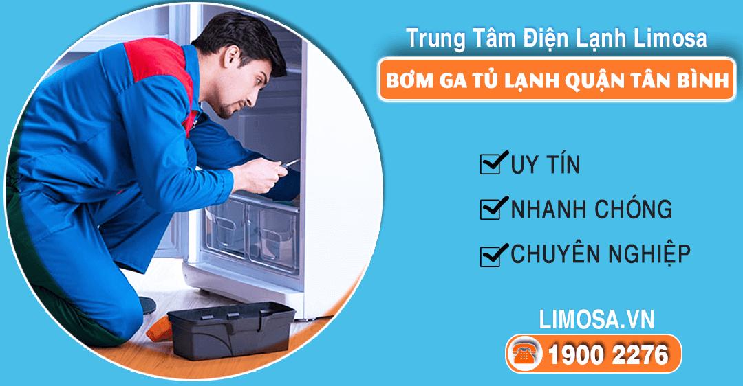 Bơm ga tủ lạnh quận Tân Bình