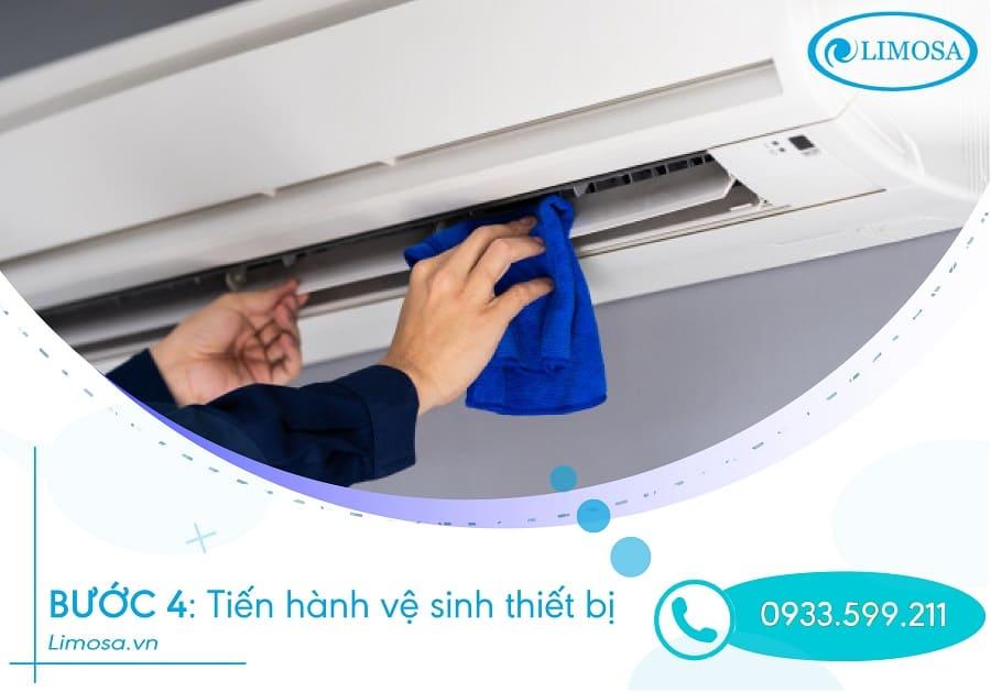 vệ sinh máy lạnh bước 4