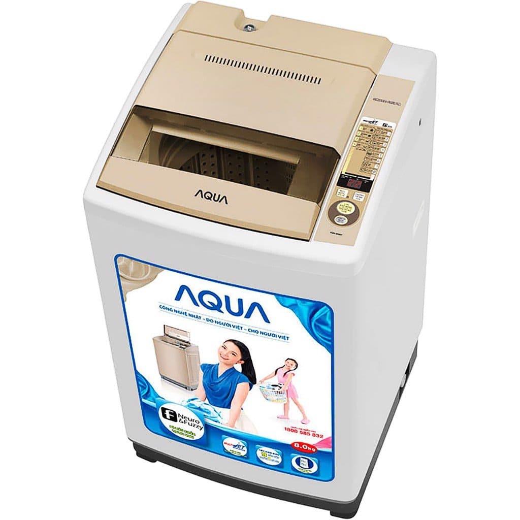 cách reset máy giặt aqua
