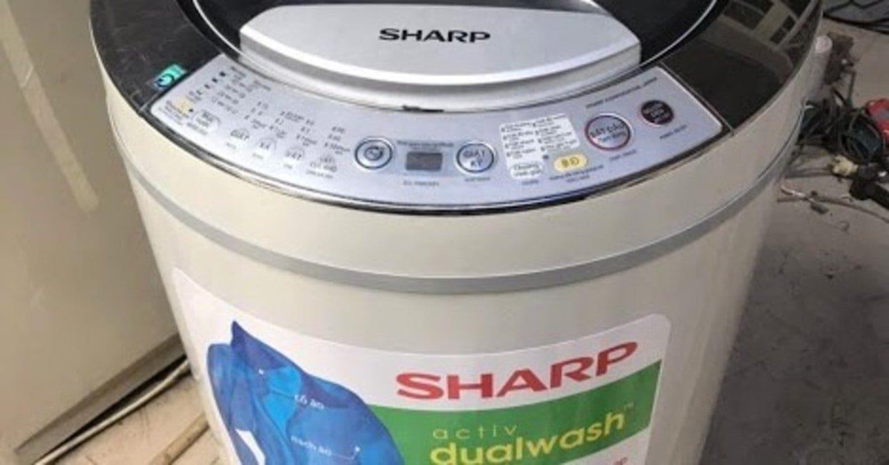 cách reset máy giặt sharp