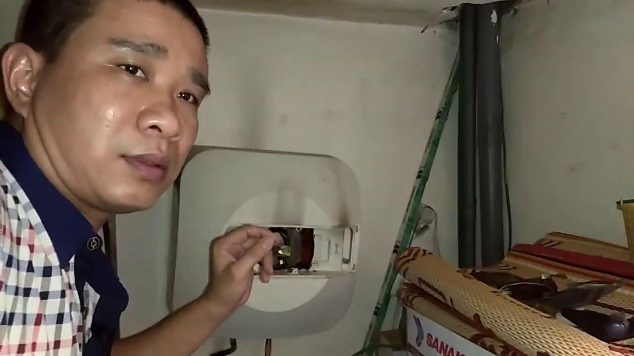 cách vệ sinh bình nóng lạnh picenza