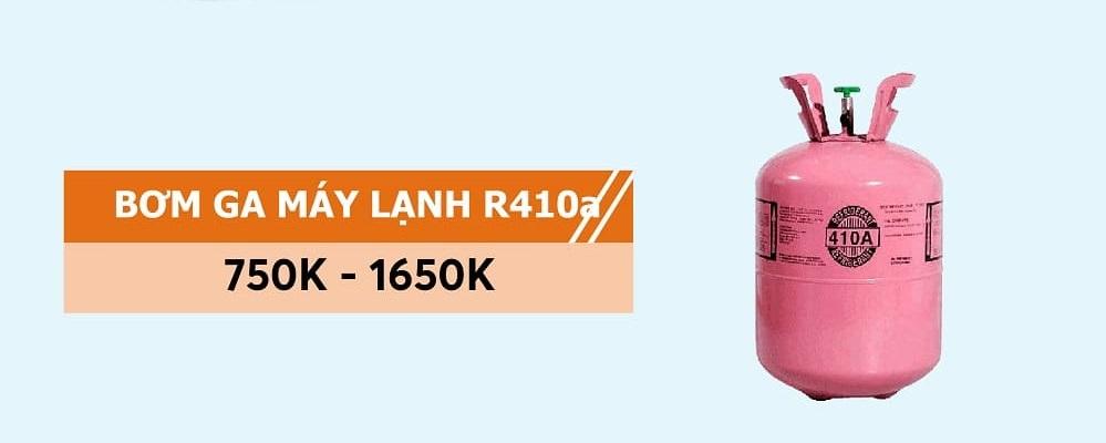 giá bơm ga máy lạnh r410a