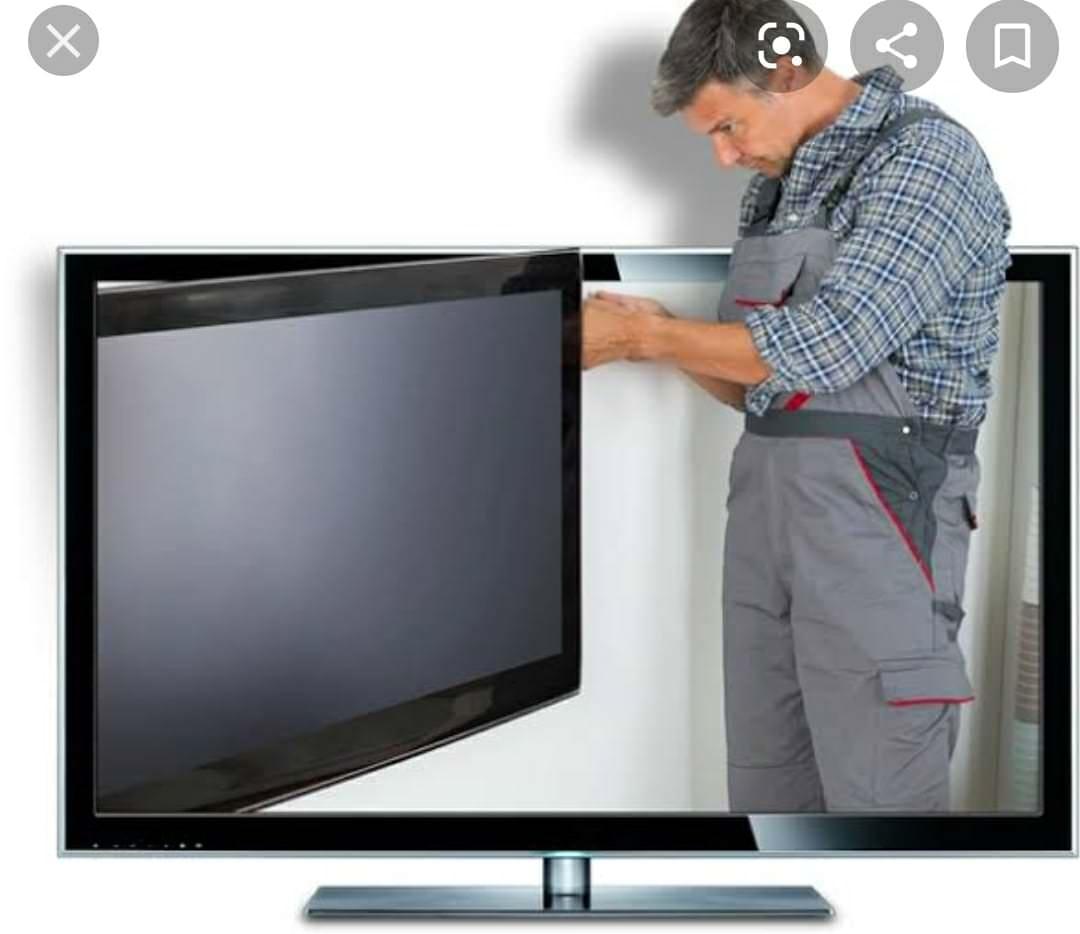 màn hình tivi bị nháy liên tục