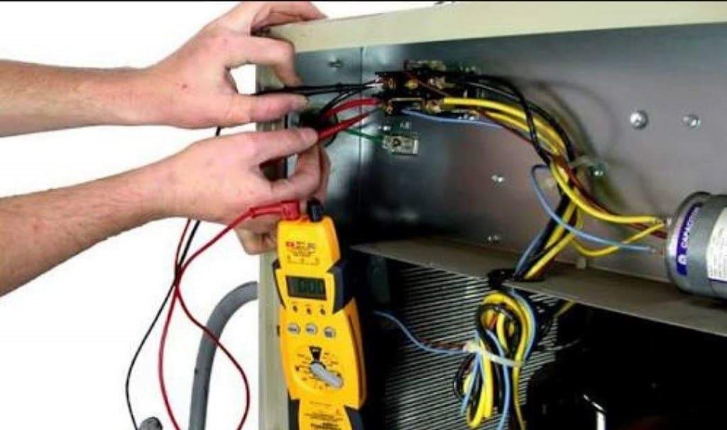 Sửa cây nước nóng lạnh bình âm