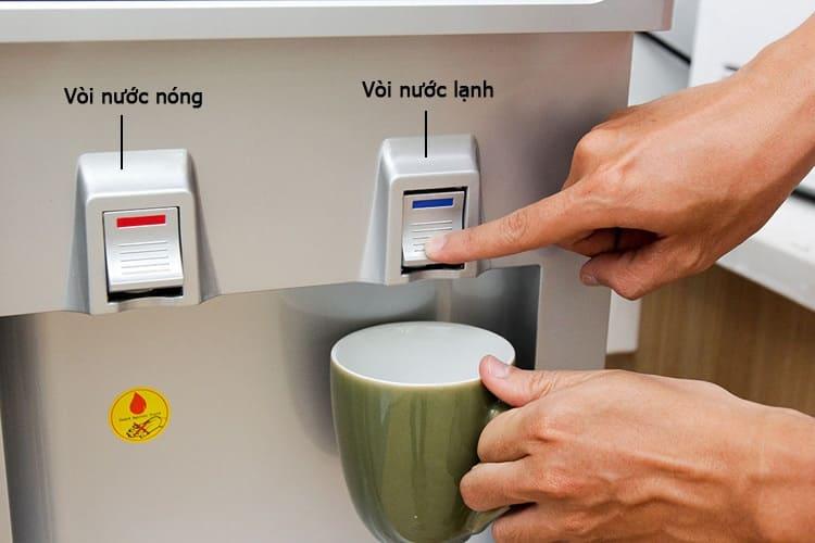 dịch vụ Sửa cây nước nóng lạnh Sanyo