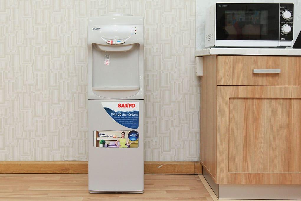 Sửa cây nước nóng lạnh Sanyo giá rẻ