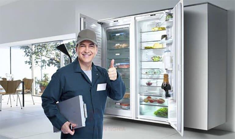 sửa chữa tủ bảo quản thực phẩm