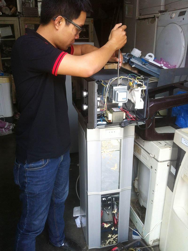 thợ sửa lò vi sóng panasonic lỗi h97