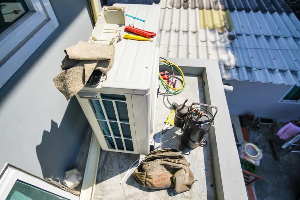 dịch vụ sửa máy lạnh cho tòa nhà hành chính