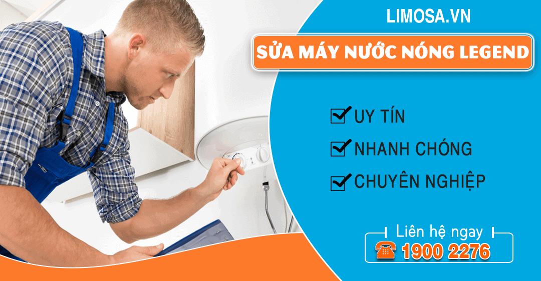 Sửa máy nước nóng Legend Limosa