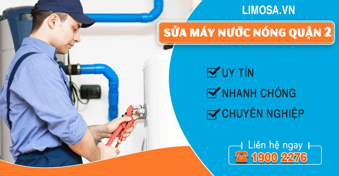 Sửa máy nước nóng quận 2 Limosa