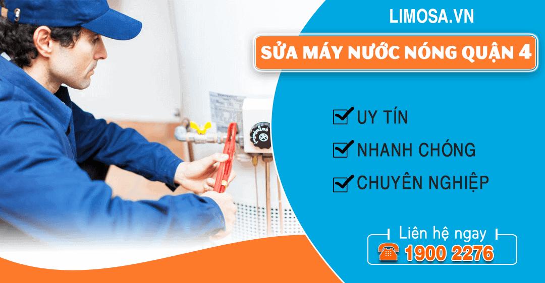 Sửa máy nước nóng quận 4 Limosa