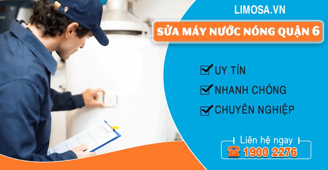 Sửa máy nước nóng quận 6 Limosa
