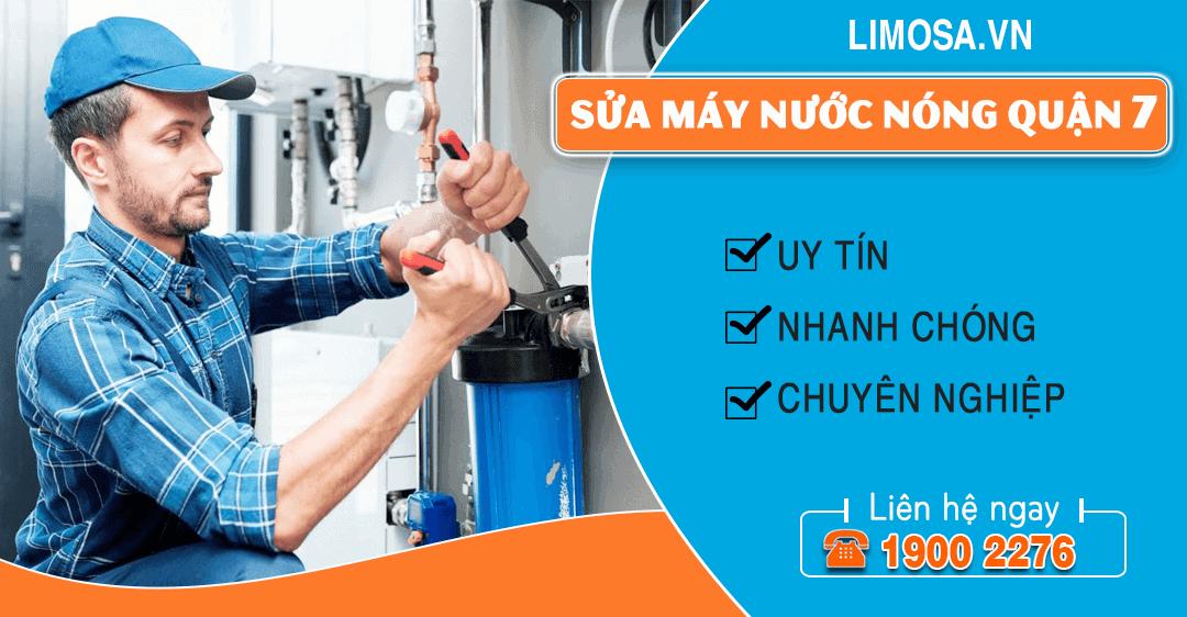 Sửa máy nước nóng quận 7 Limosa