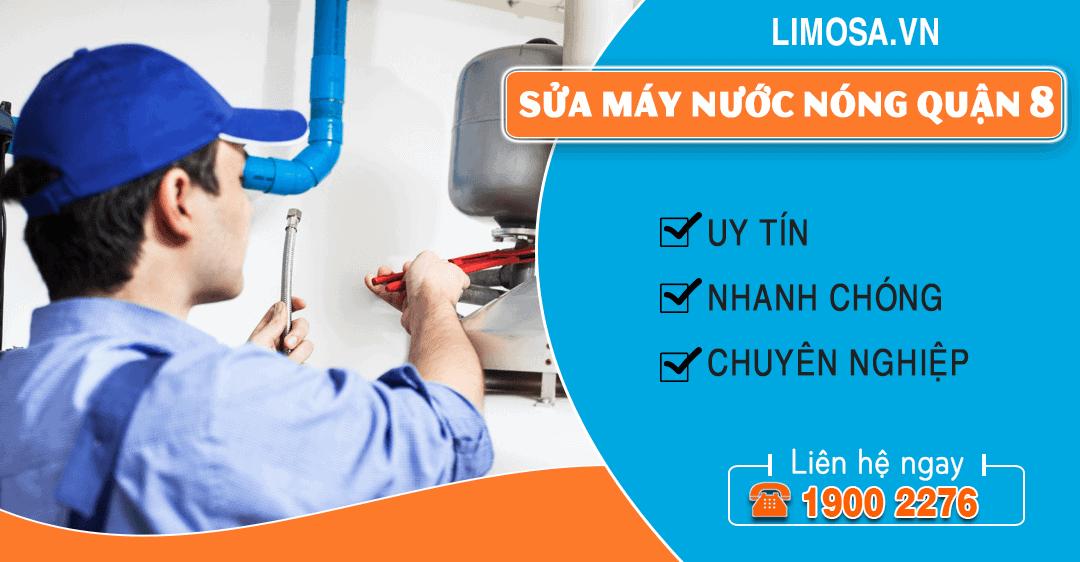 Sửa máy nước nóng quận 8 Limosa