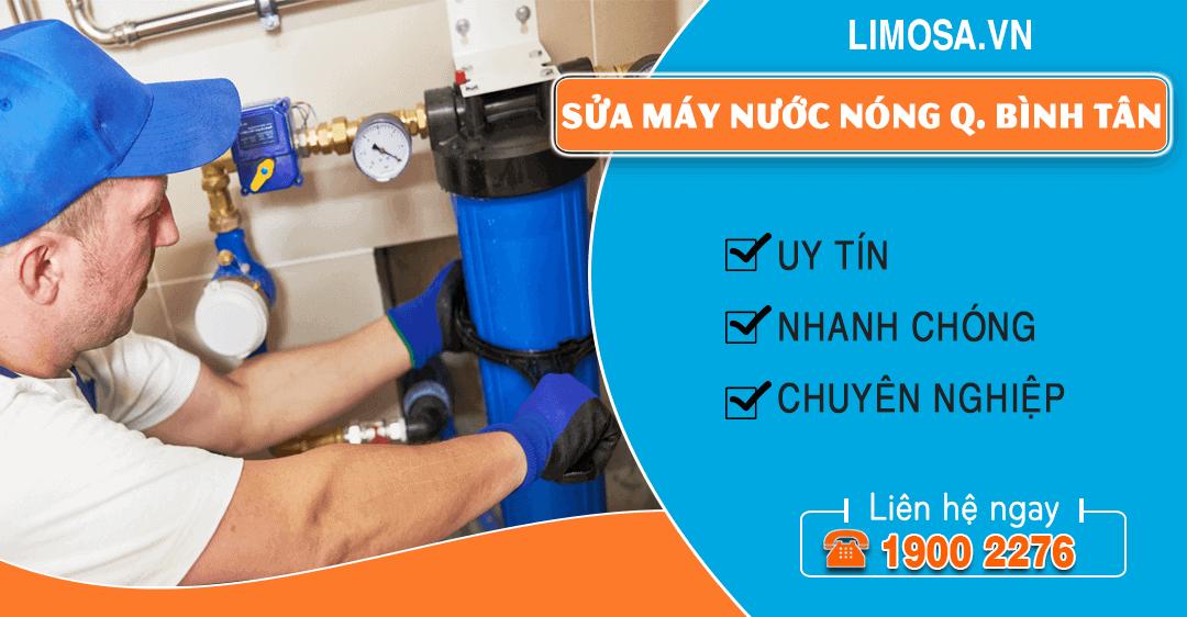 Sửa máy nước nóng quận Bình Tân Limosa