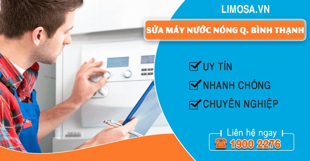 Sửa máy nước nóng quận Bình Thạnh Limosa