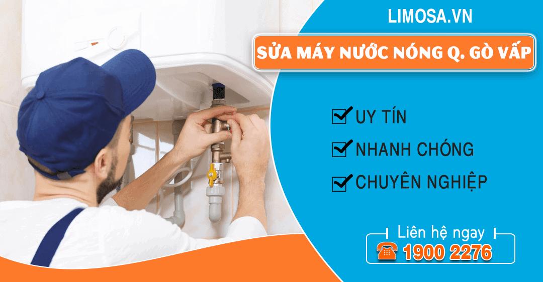 Sửa máy nước nóng quận Gò Vấp Limosa