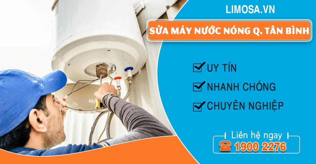 Sửa máy nước nóng quận Tân Bình Limosa