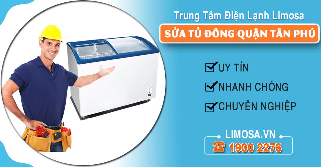 Sửa tủ đông quận Tân Phú
