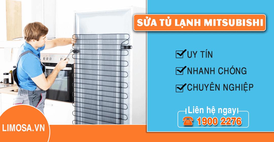 Dịch vụ sửa tủ lạnh Mitsubishi Limosa
