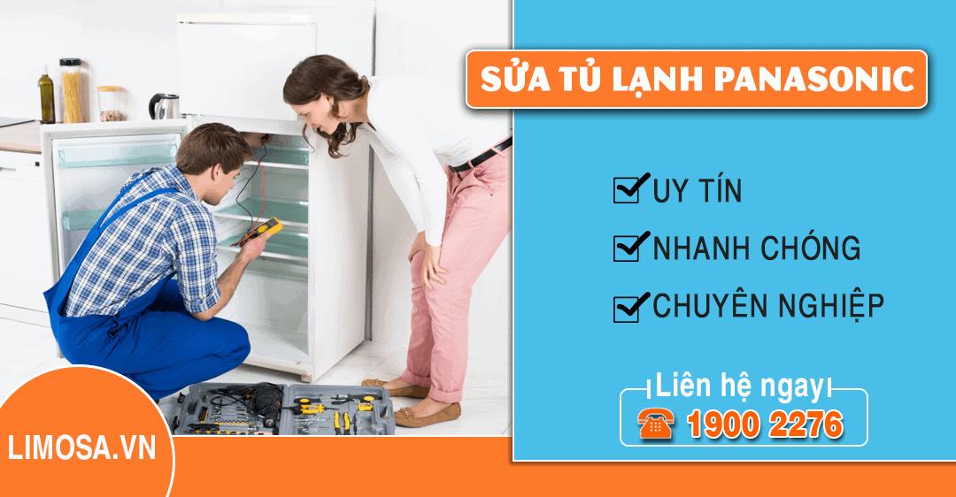 Dịch vụ sửa tủ lạnh Panasonic Limosa