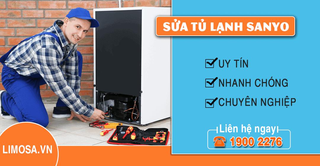 Dịch vụ sửa tủ lạnh Sanyo Limosa