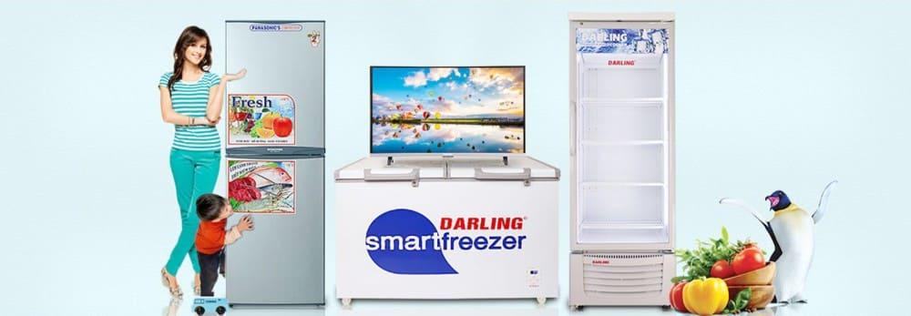 Bảng mã lỗi tủ lạnh Darling