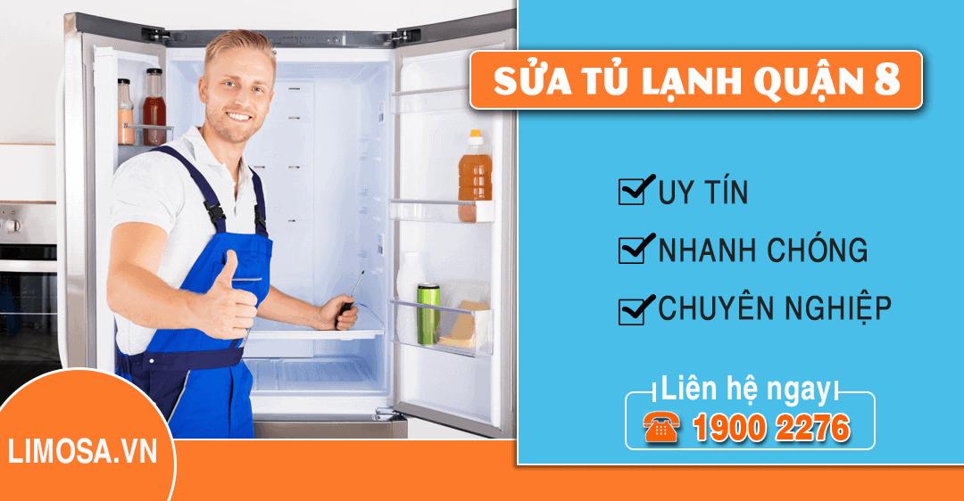 Dịch vụ sửa tủ lạnh quận 8 Limosa