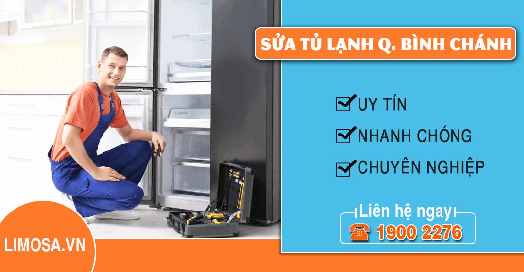 Dịch vụ sửa tủ lạnh quận Bình Chánh Limosa
