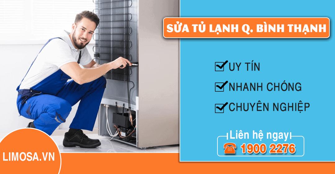Dịch vụ sửa tủ lạnh quận Bình Thạnh Limosa