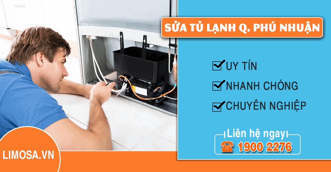 Dịch vụ sửa tủ lạnh quận Phú Nhuận Limosa