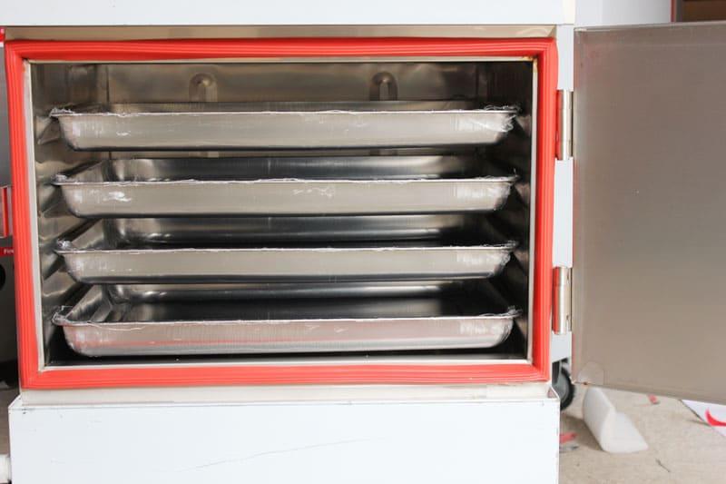Sửa tủ nấu cơm công nghiệp 4 khay