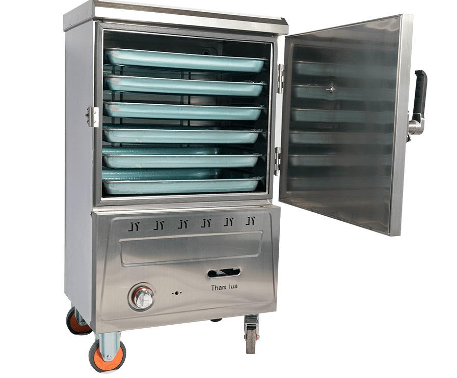sửa tủ nấu cơm công nghiệp 6 khay