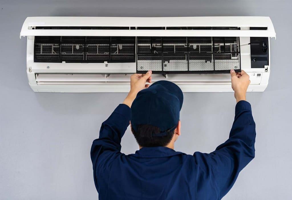 tháo lắp máy lạnh quận Tân Phú