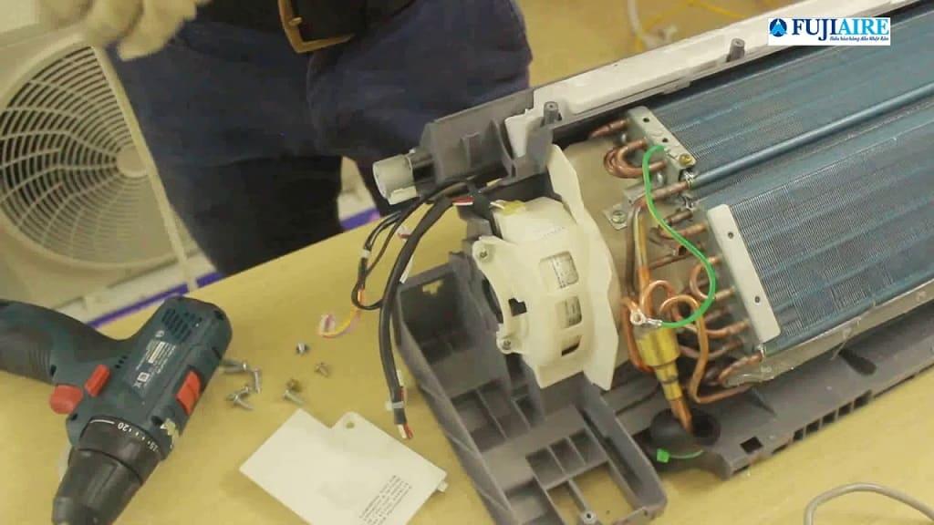 tháo lắp máy lạnh Sanyo tại nhà