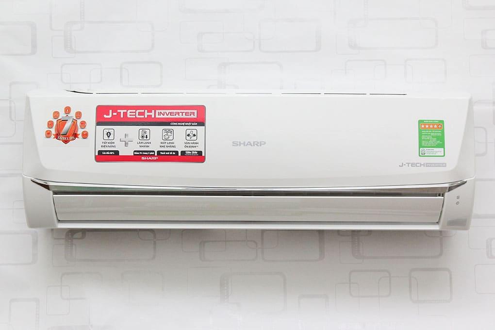tháo lắp máy lạnh sharp