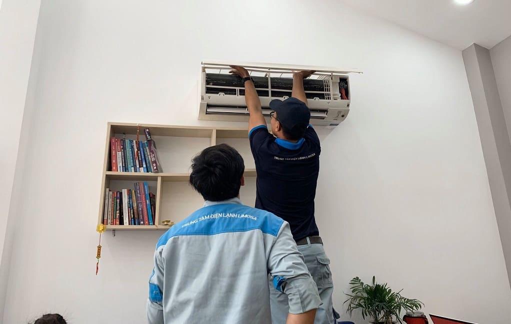 Thợ tháo lắp máy lạnh giá rẻ