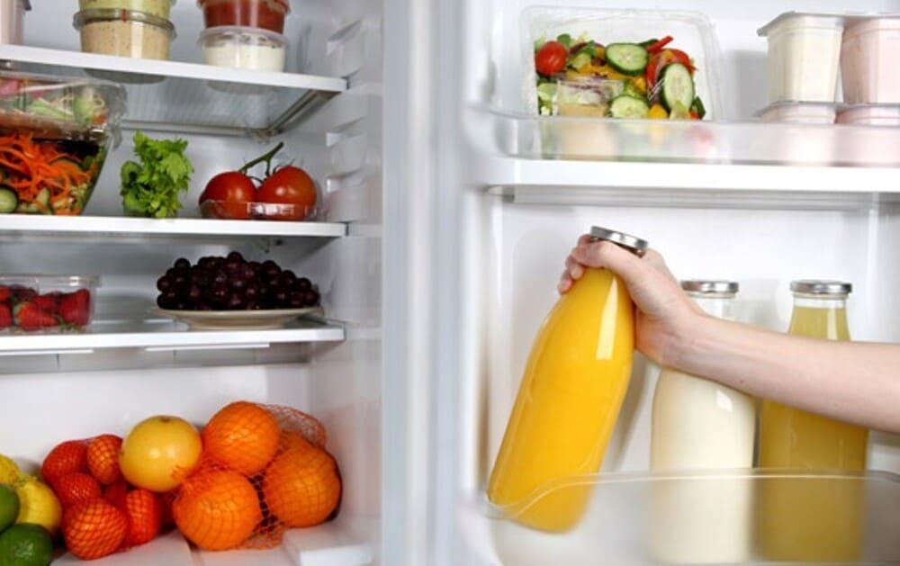 tủ lạnh bị ngập nước