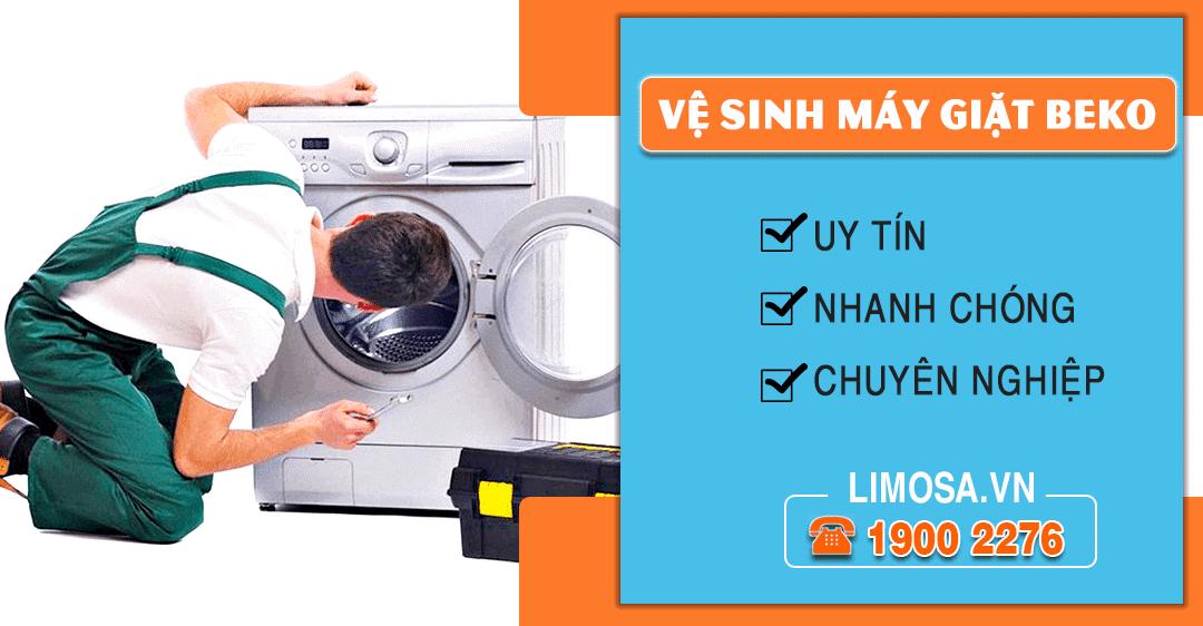Dịch vụ vệ sinh máy giặt Beko Limosa