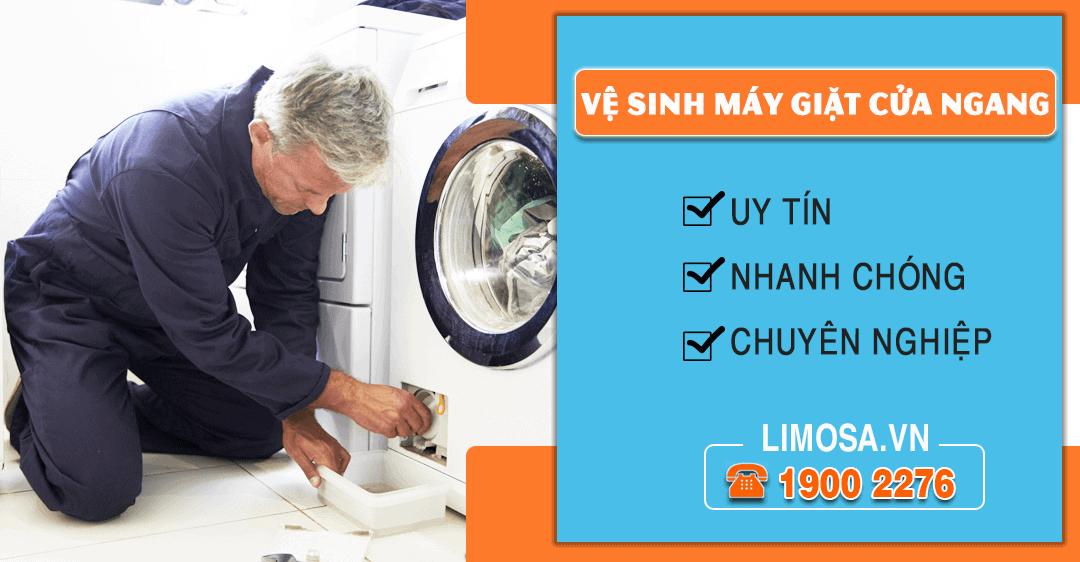 Dịch vụ vệ sinh máy giặt cửa ngang Limosa