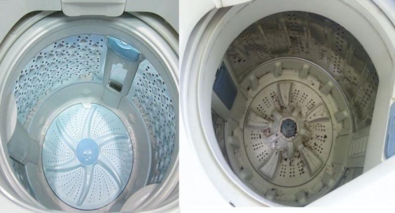 vệ sinh máy giặt national